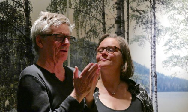 Eppu & Kurt Nuotio aus Berlin in Frankfurt April 2016
