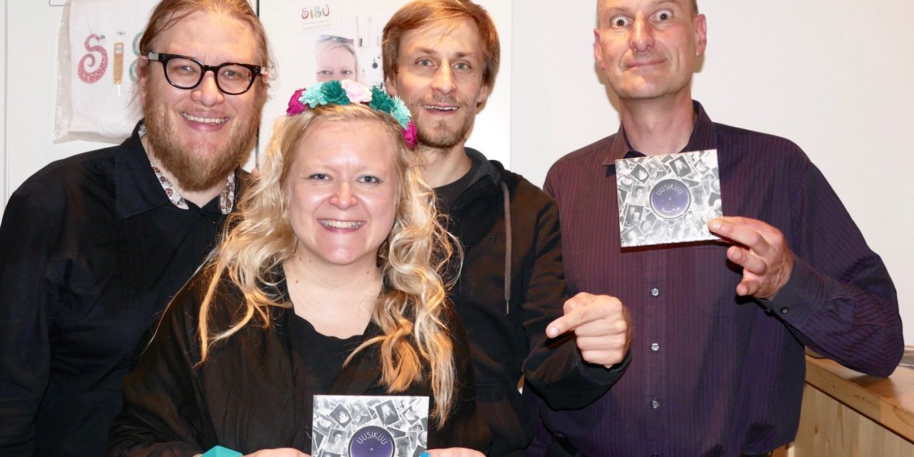 UUSIKUU CD-release Konzert im Galli Theater 3.7.2016
