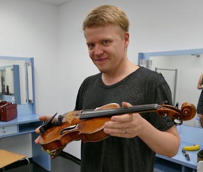 Pekka Kuusisto ja Stradivari