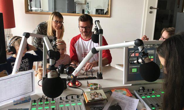 Marko Mäkilaakso studiossa 23.4.2017