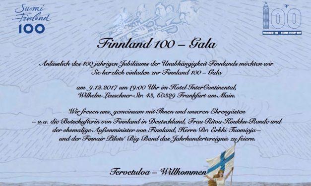 FINNLAND 100 – Hessen feiert mit 9.12.2017 Frankfurt