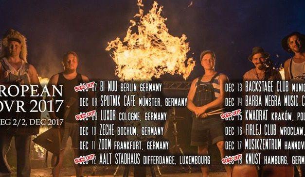 Steve 'n' Seagulls 11.12.2017 ZOOM Frankfurt