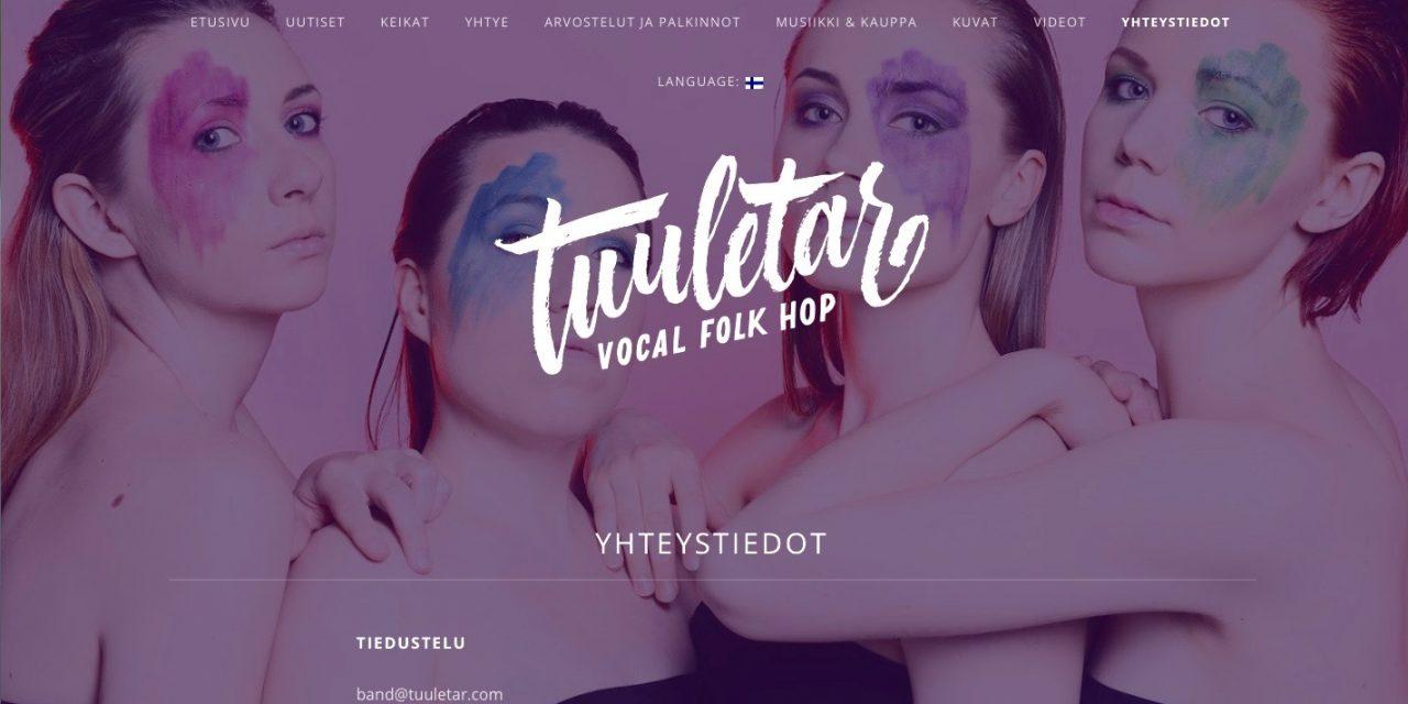 TUULETAR vocal folk hop 26.3.2018 Brotfabrik Frankfurt