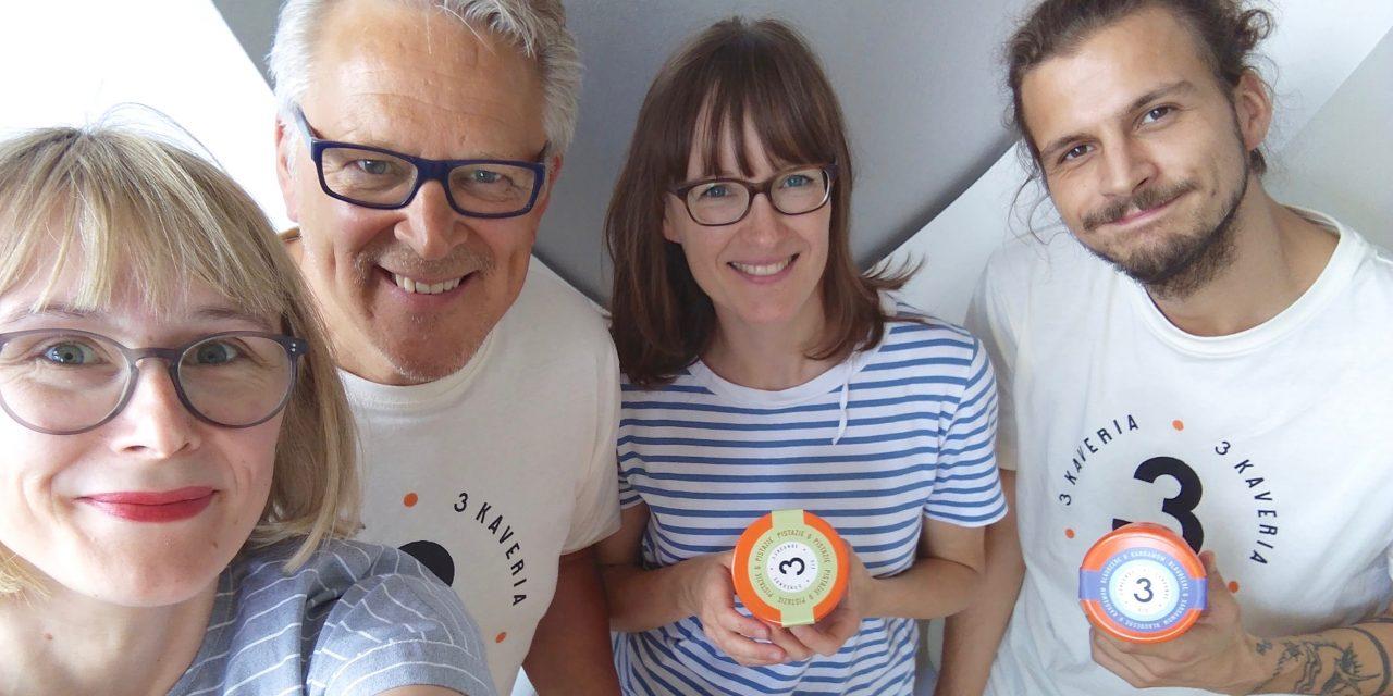 3 kaverin jäätelöt studiossa 17.6.2018