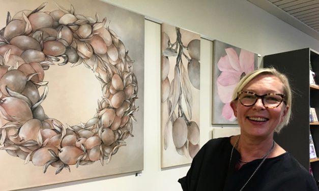 Tuija Jussila BALANCE-näyttely 7.9.2018