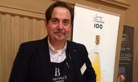 Jean-Marc Hering Cider World omenaviinimessuilla 31.3.2019