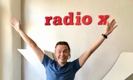Tomi Räsänen studiossa 11.8.2019
