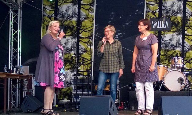 Suomi Bühne bei Museumsuferfest 2014