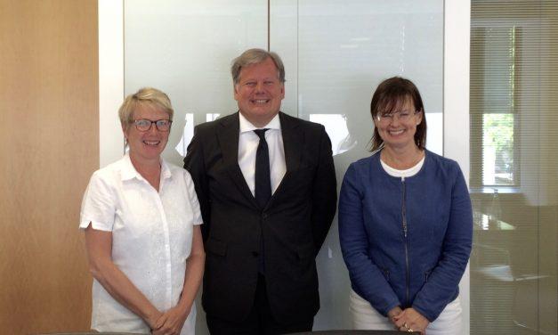 Neuer Honorarkonsul für Finnland in Frankfurt 2015