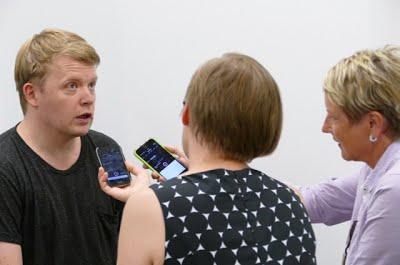 Pekka Kuusisto SISUn haastateltavana