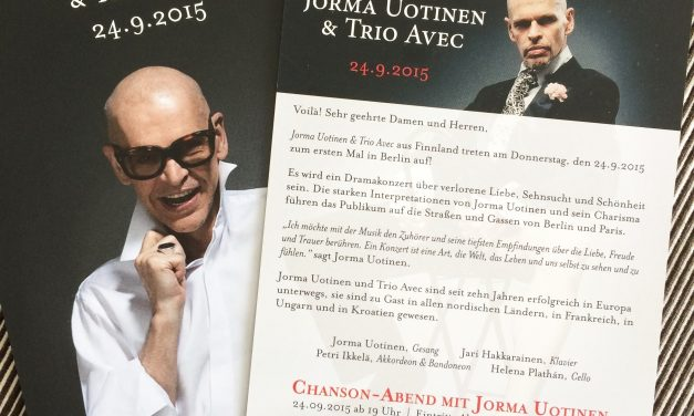 Jorma Uotinen ja Trio Avec 2015 Berlin