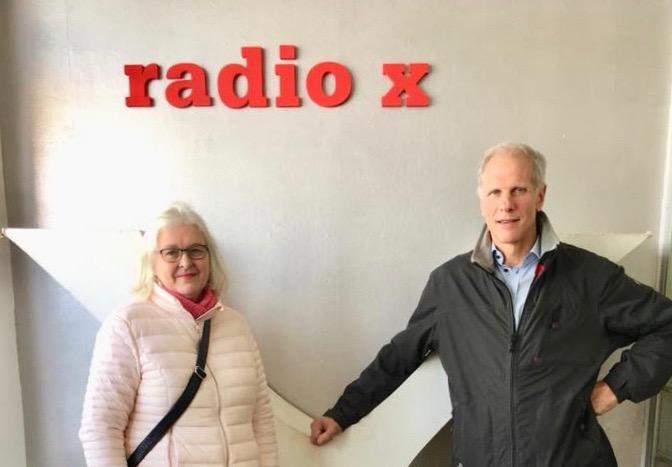 Paula ja Christian studiossa 29.10.2017