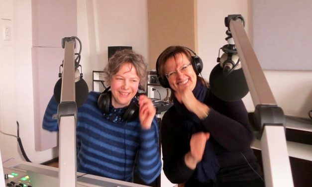 Studiovieraana Annika Breternitz ja Riitta Pylkkänen 11.3.2018